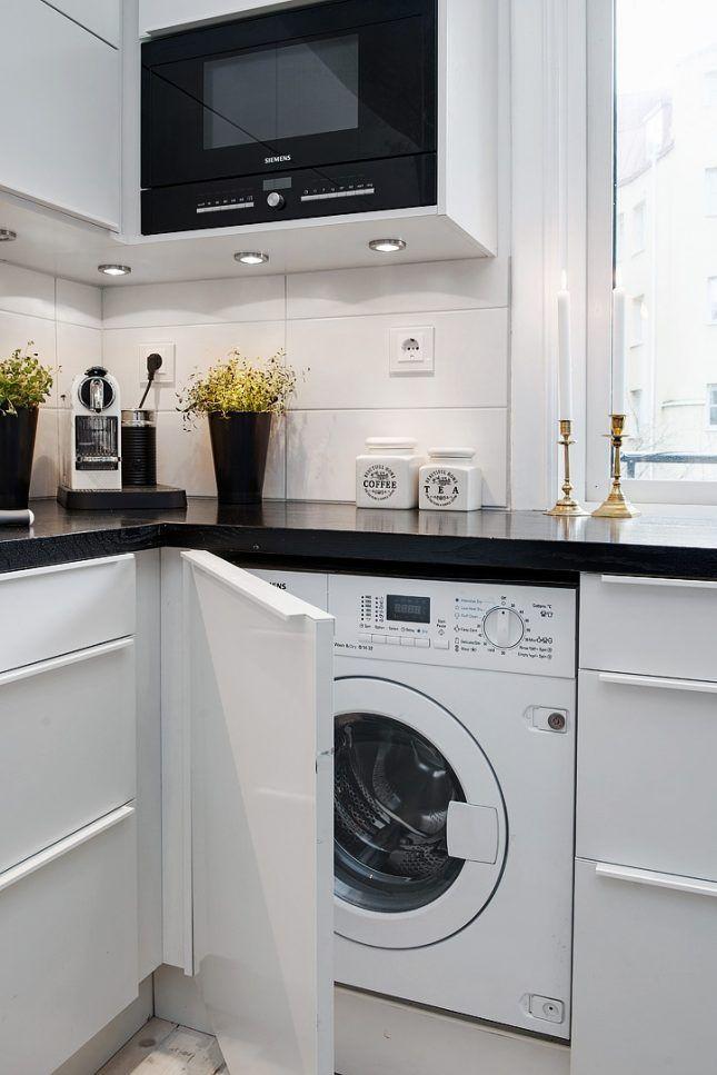 Welp Wasmachine in keuken | Wasmachine, Keuken, Keuken eetkamer HO-17