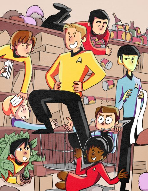 I know I'm late for the party and nobody is submitting these anymore but I missed seeing Star Trek on your blog, so I thought I would give it a try. I loved your Star Trek comics, they were always the highlight of my...