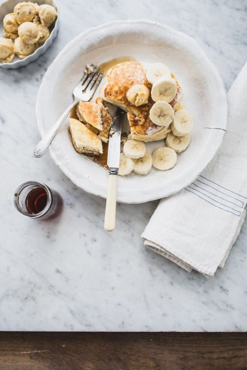 confectionerybliss:Ricotta Hotcakes with Honeycomb Butter...