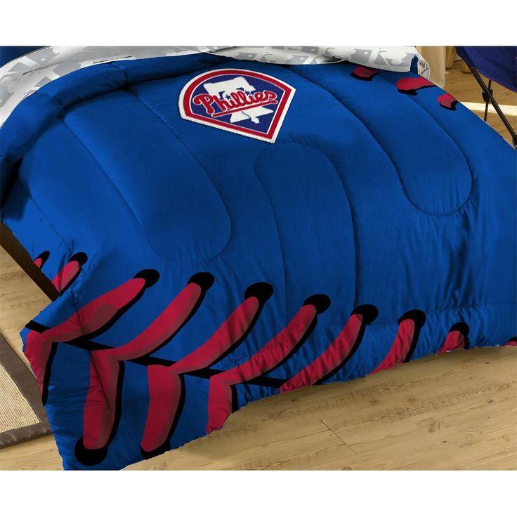 Philadelphia Phillies Baseball Twin-Full Bed Comforter Set