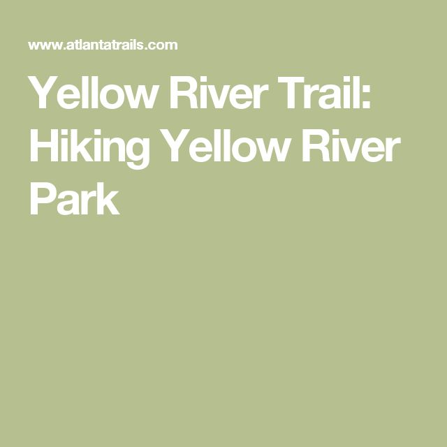 Yellow River Trail: Hiking Yellow River Park