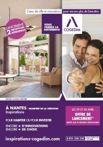 COGEDIM: Lancement de 2 résidences à Nantes