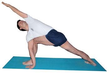 parivrtta parsvakonasana stepstep  iyengar yoga