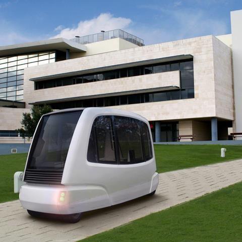 Move Mile é um sistema de transporte inteligente, um veículo elétrico autônomo criado para complementar os meios de transporte público e privado. #mobilidade #tecnologia