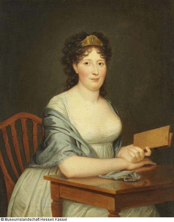 Böttner, Wilhelm Ziegenhain 24.2.1752 - 24.11.1805 Kassel Kat. Nr.: 22 1802/1805, Caroline Juliane Albertina von Schlotheim, spätere Gräfin von Hessenstein