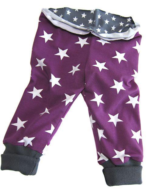 Tutorial: Wendehose mit Bündchen an Taille und Beinabschluss » Bündchen, Hosen, Beinbündchen, Jacken, Hose, Taillenbündchen » Farbenmix