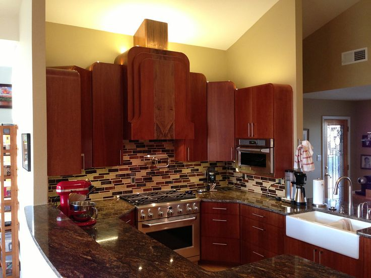 This Art Deco Kitchen Kitchen Cabinets And Kitchen Cabinet Colors