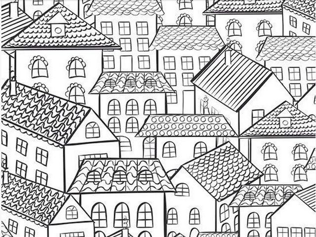 35 Best Colouring For Adults Images On Pinterest