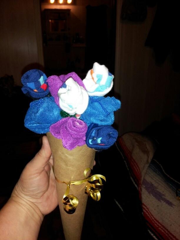 28 best images about Sock bouquet on Pinterest