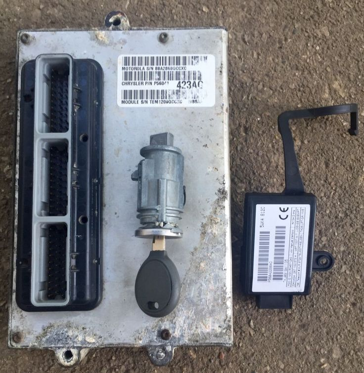 1999 Jeep Grand Cherokee 40 Engine Control Skim Module