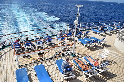Pacific Dawn rear deck
