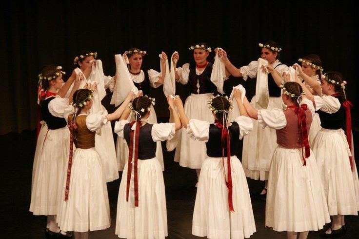 hungarian folk dance  szlavóniai