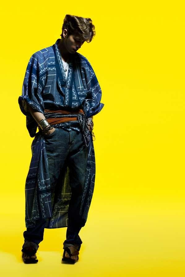Casual Samurai Fashion | My mom, Kimonos and Style