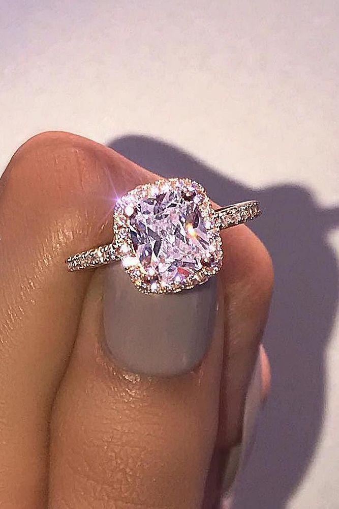 21 Budget-Friendly Engagement Rings Under $1,000 ❤️ See more: http://www.weddingforward.com/cheap-engagement-rings/ #wedding