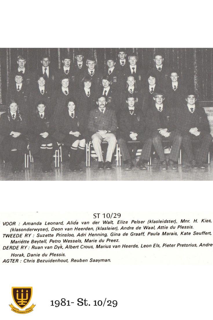 St.10/29 - 1981