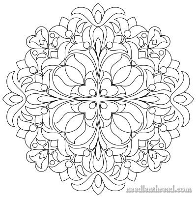 Hand Embroidery Pattern: Hungarian Design #6 #embroidery #patterns