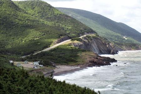 Cape Breton Island Nova Scotia. Cabot Trail.
