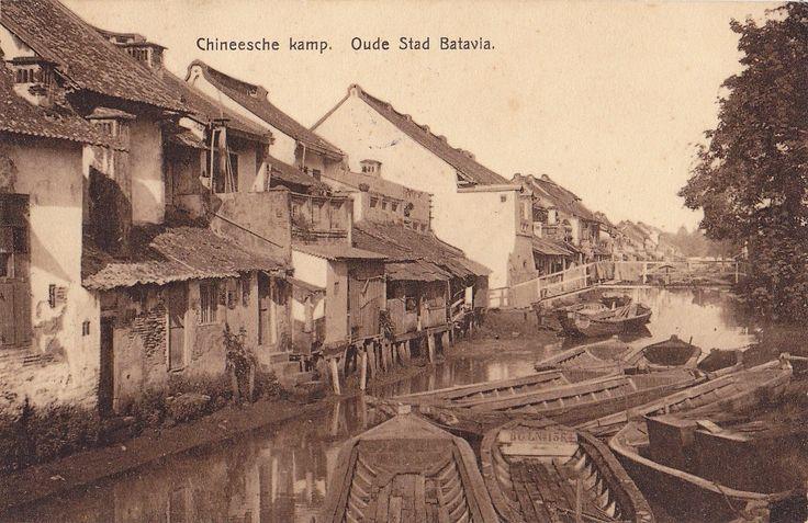 Batavia (Jakarta) - Old Town Glodok  1913