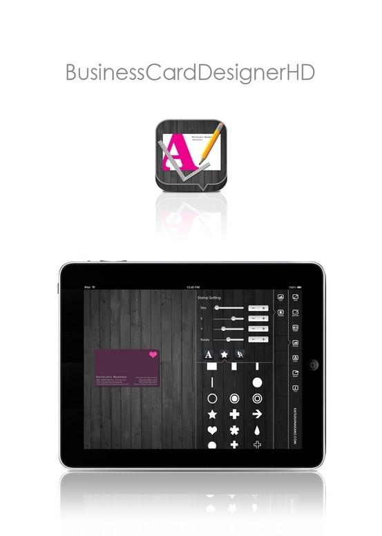 Best 25 business card creator ideas on pinterest package businesscarddesignerhd maker creator templates software app for ipad ipad business reheart Choice Image