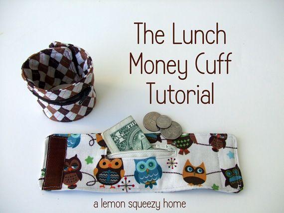 Lunch money cuff