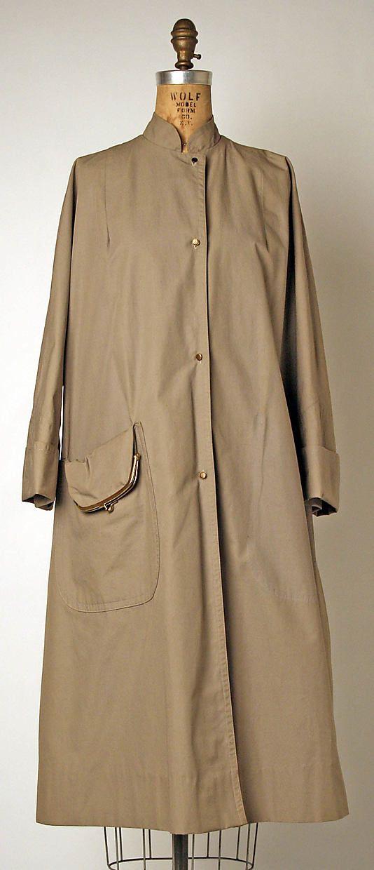 Bonnie Cashin Raincoat 1951