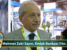 Mehmet Zeki Sayın, Emlak Bankası Yönetim Kurulu Başkanı Video