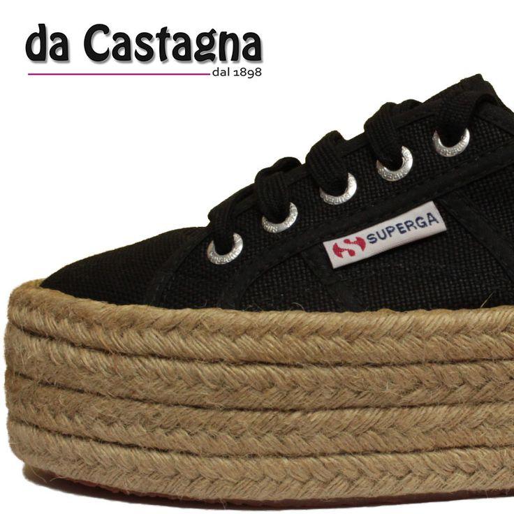 superga 2790 con zeppa in corda , tendenza made in italy http://www.abbigliamentodacastagna.it/prodotti/scarpa-donna/superga-2790-cotropew/