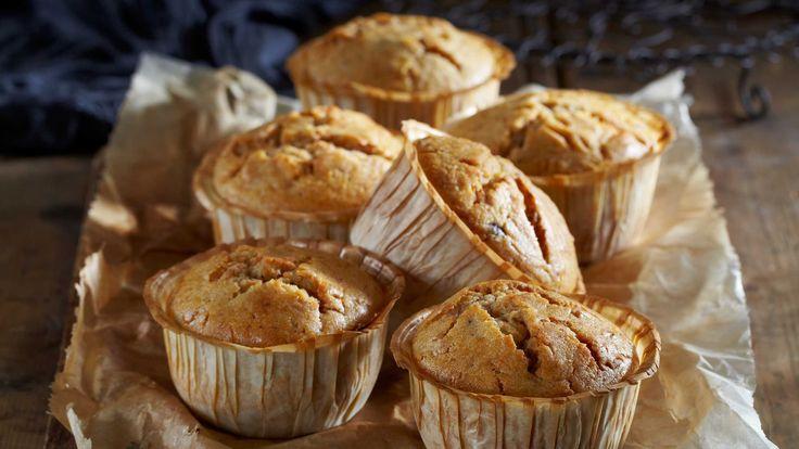 Ekstra gode og saftige muffins med brunost. Av denne oppskriften får du ca. 18 små eller 8 store brunostmuffins.