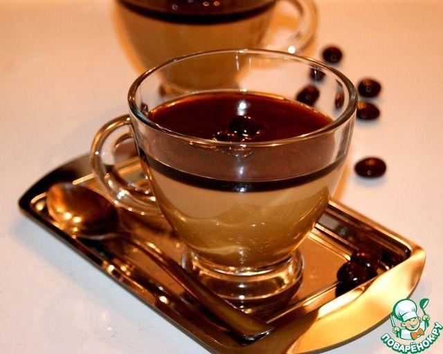 Кофейная панна-котта ингредиенты