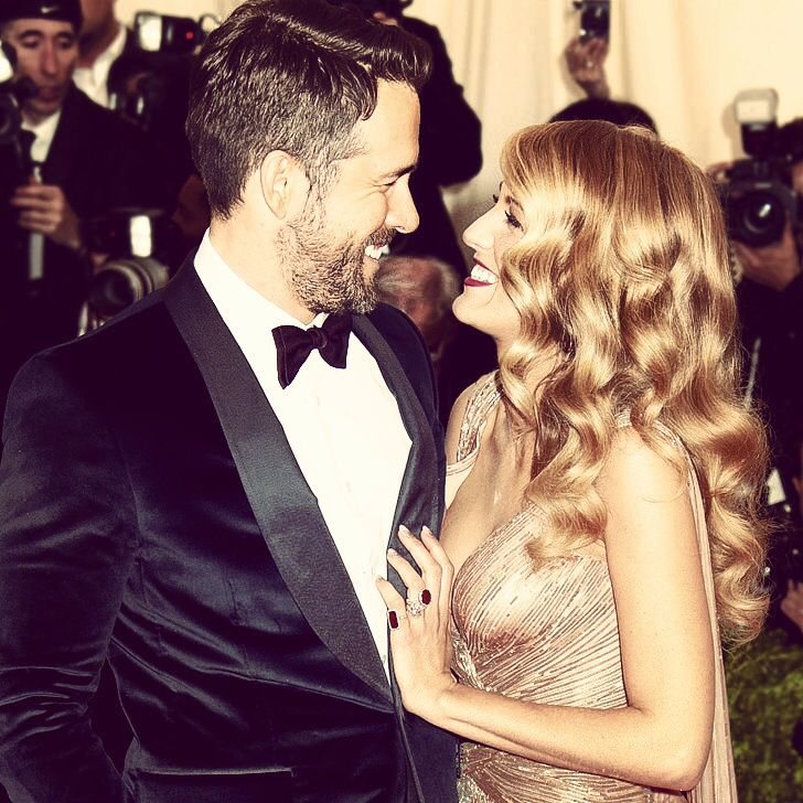 Ryan Reynolds and Blake Lively (married since 2012)