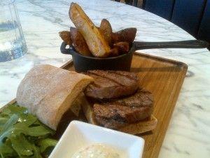 Outstanding steak sandwich at Twenty Princes Street :-)
