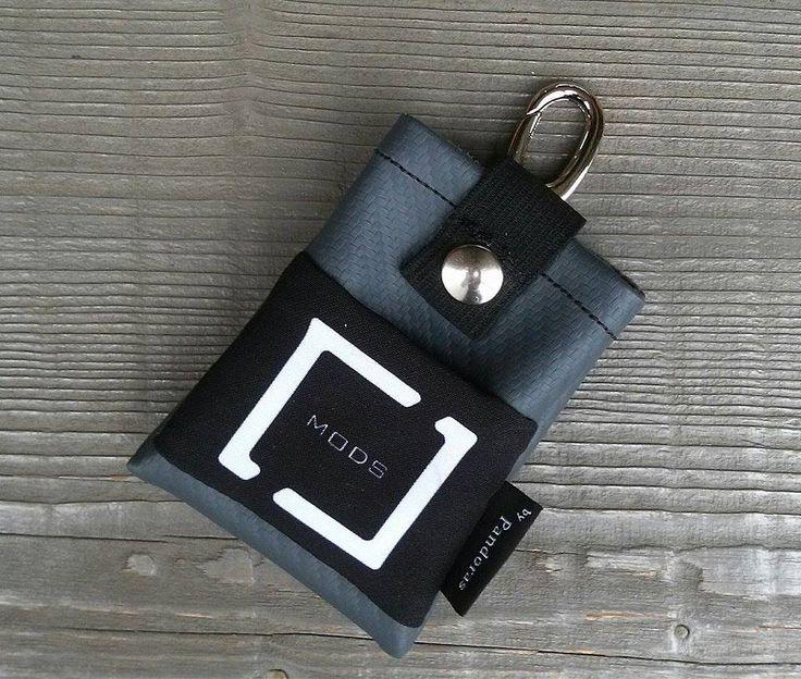 Pandoras grey belt pouch C&C Mods logo