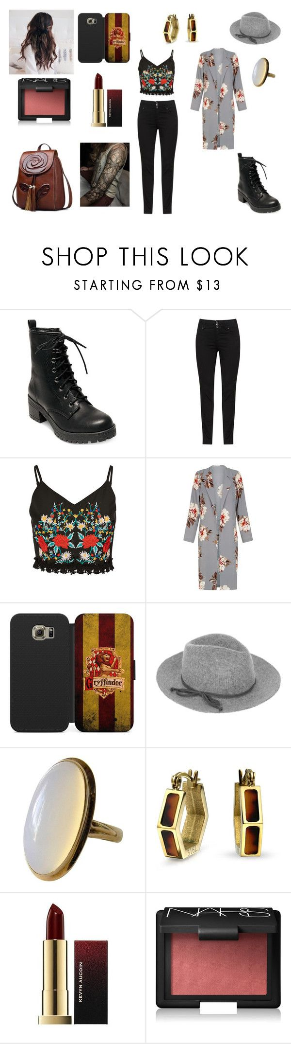"""""""Sans titre #2596"""" by amandine-collet on Polyvore featuring mode, Madden Girl, Samsung, Accessorize, Bling Jewelry et NARS Cosmetics"""