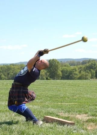 hammer throw highland games | Virginia Scottish Games and Festivals