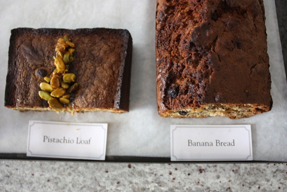 Pistachio Loaf & Banana Bread at Skinny Legs & All