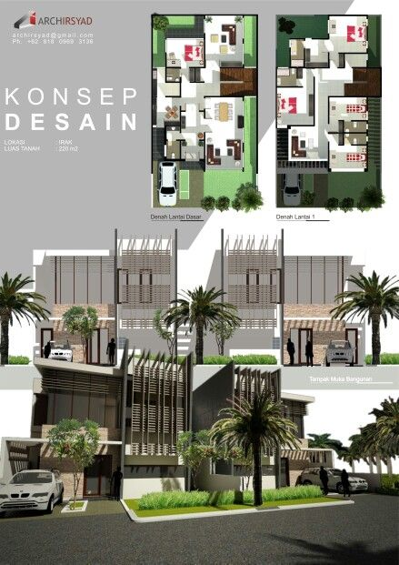 Middle East House - Design Concepts