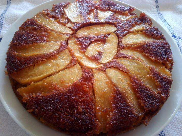 Tarta Tarín de manzana, fácil y deliciosa.