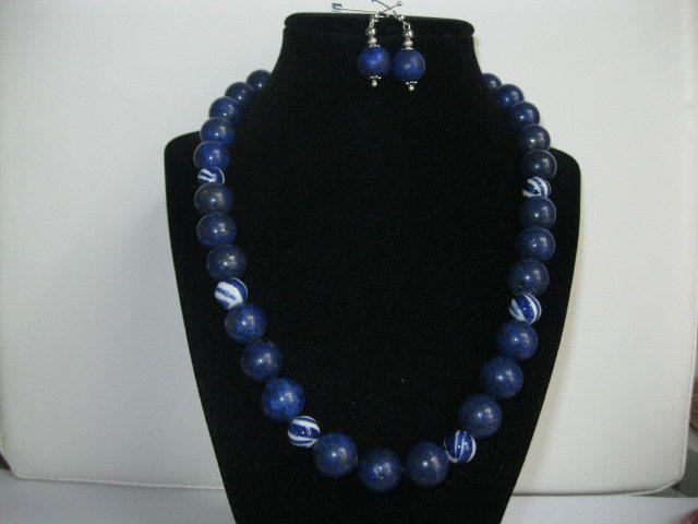 Lapis-lazuli, collar lapislazuli, collar para mujer, Gemas, Jovenes, Bisuteria, Collar en gemas, Collares, Necklace lapislazuli, Young Women de PekitasCreations en Etsy