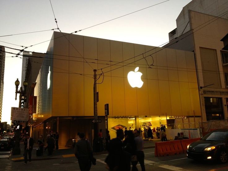 Apple Store, San Francisco: Apple Stores, Apples Stores