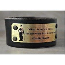 CHARLİE CHAPLİN Orjinal Deri Bileklik http://ladymirage.com.tr/bilezik-bileklik.html/charlie-chaplin-orjinal-deri-bileklik-89084187.html #bileklik #charliechaplin #siyah #deri #orjinalderi #tasarım #elyapımı