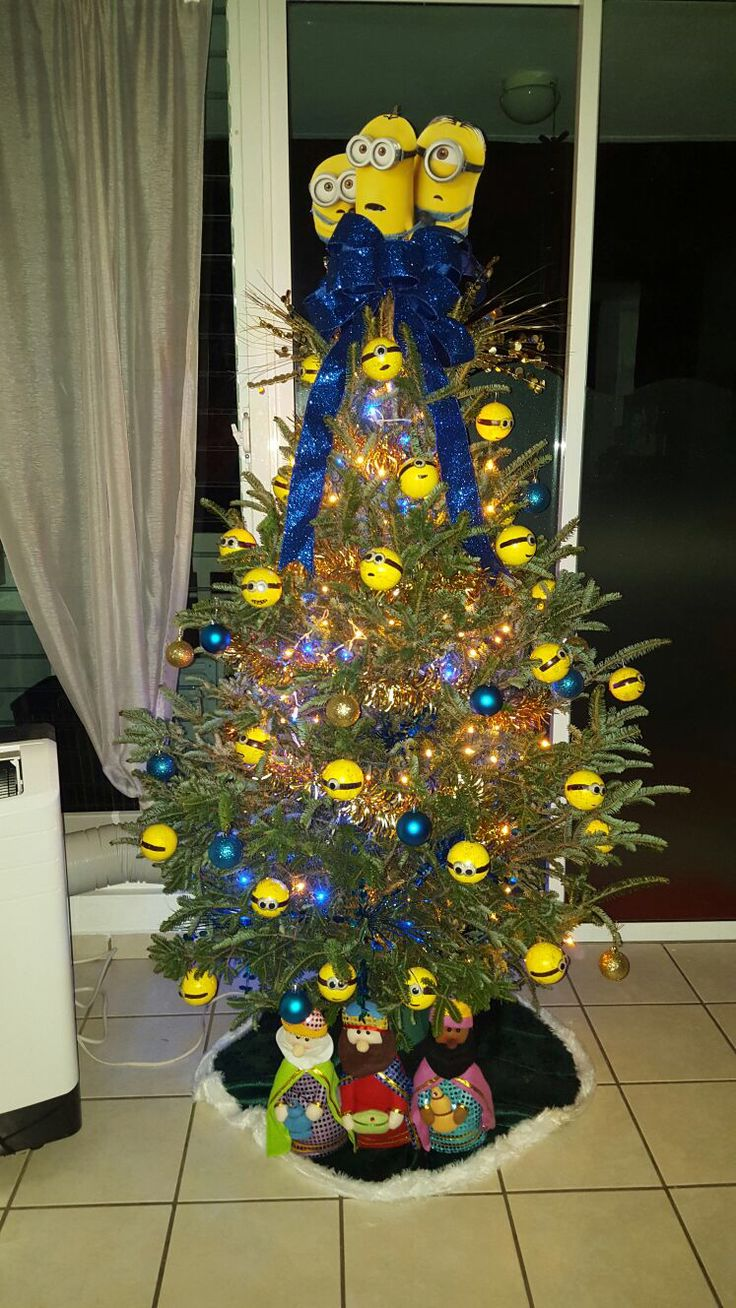 Our family Minions Christmas Tree