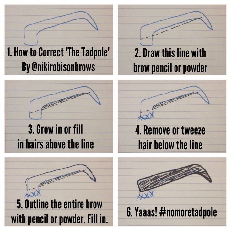 How to correct a bad eyebrow shape. #brows #esthetician #makeup I know soooo man…