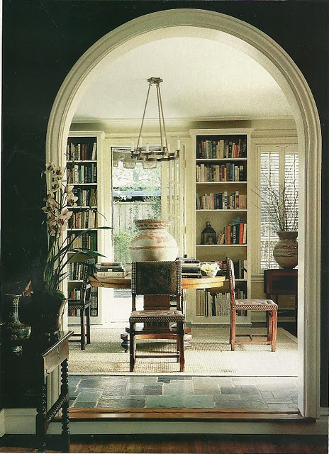 Best Walls Painted With Contrasting Trim Images On Pinterest - Arched interior doorway design decoration