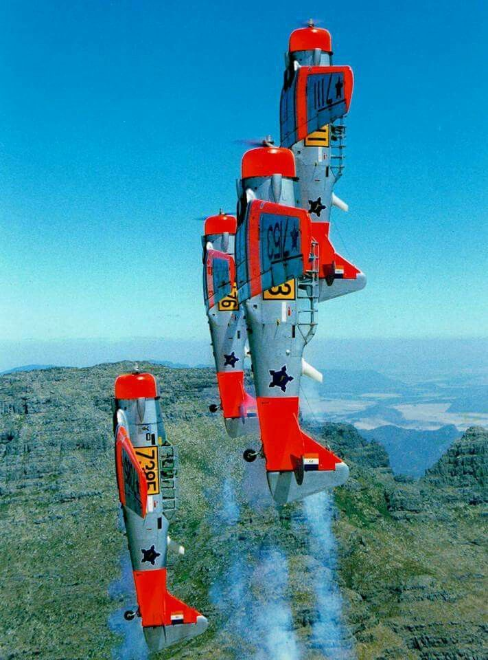 SAAF Harvard Formation