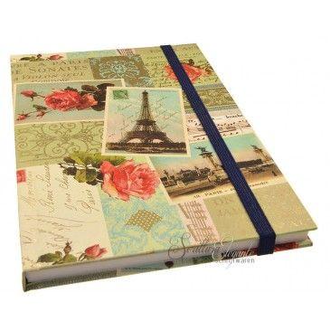 Notitieboek met papieren cover Rossi 1931: Parijs