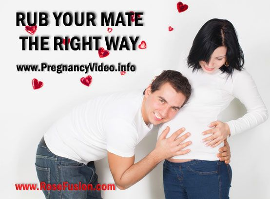 Rub Your Mate The Right Way! Free pregnancy massage lesson and DVD trailer.