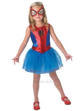 Spider Girl Costume - fancydress.com £19.99