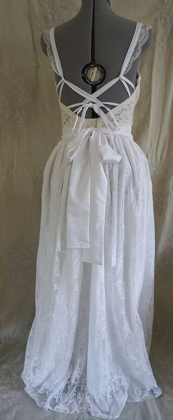 RÉSERVÉ sur mesure robe de prairie... femmes robe par jadadreaming