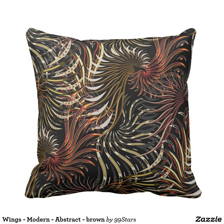 Wings - Modern - Abstract - brown