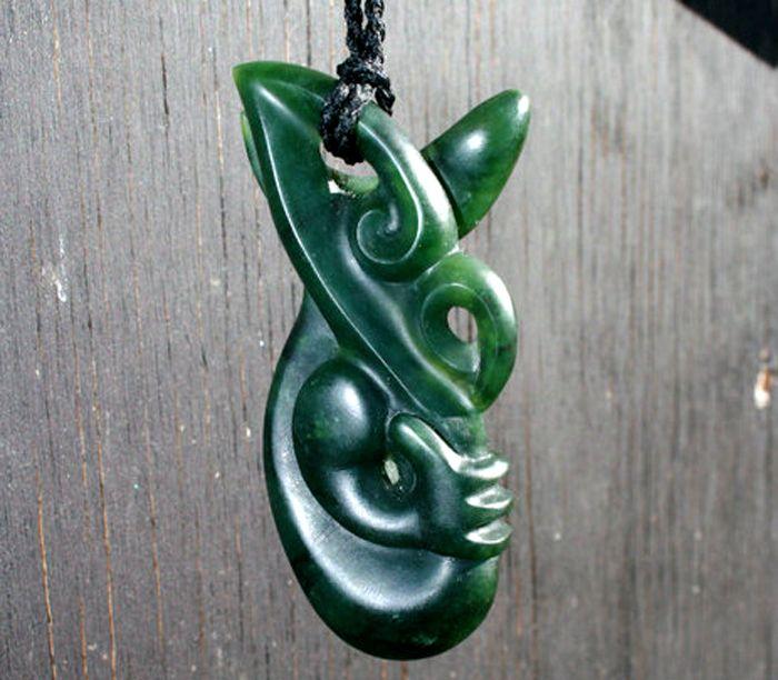 Jade Carving: Manaia